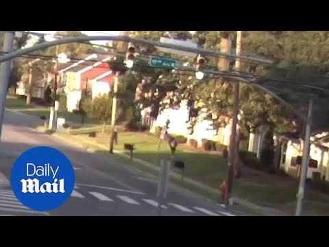 Police officer shoots Daniel Hambrick in the back as he flees