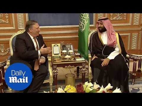 Pompeo meets Saudi Crown Prince over journalist's disappearance