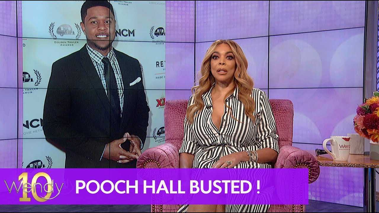 Pooch Hall Busted