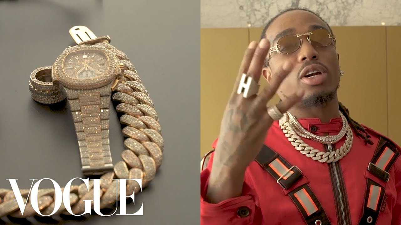Quavo Shows Off His Jewelry and Plays Basketball   Vogue
