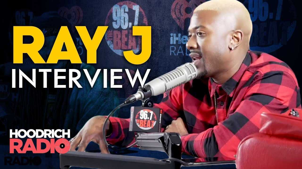 """Ray J Talks Investments, RayCon Global, Unsung, Family Life, & """"Whipping Foreigns"""" on Hoodrich Radio"""