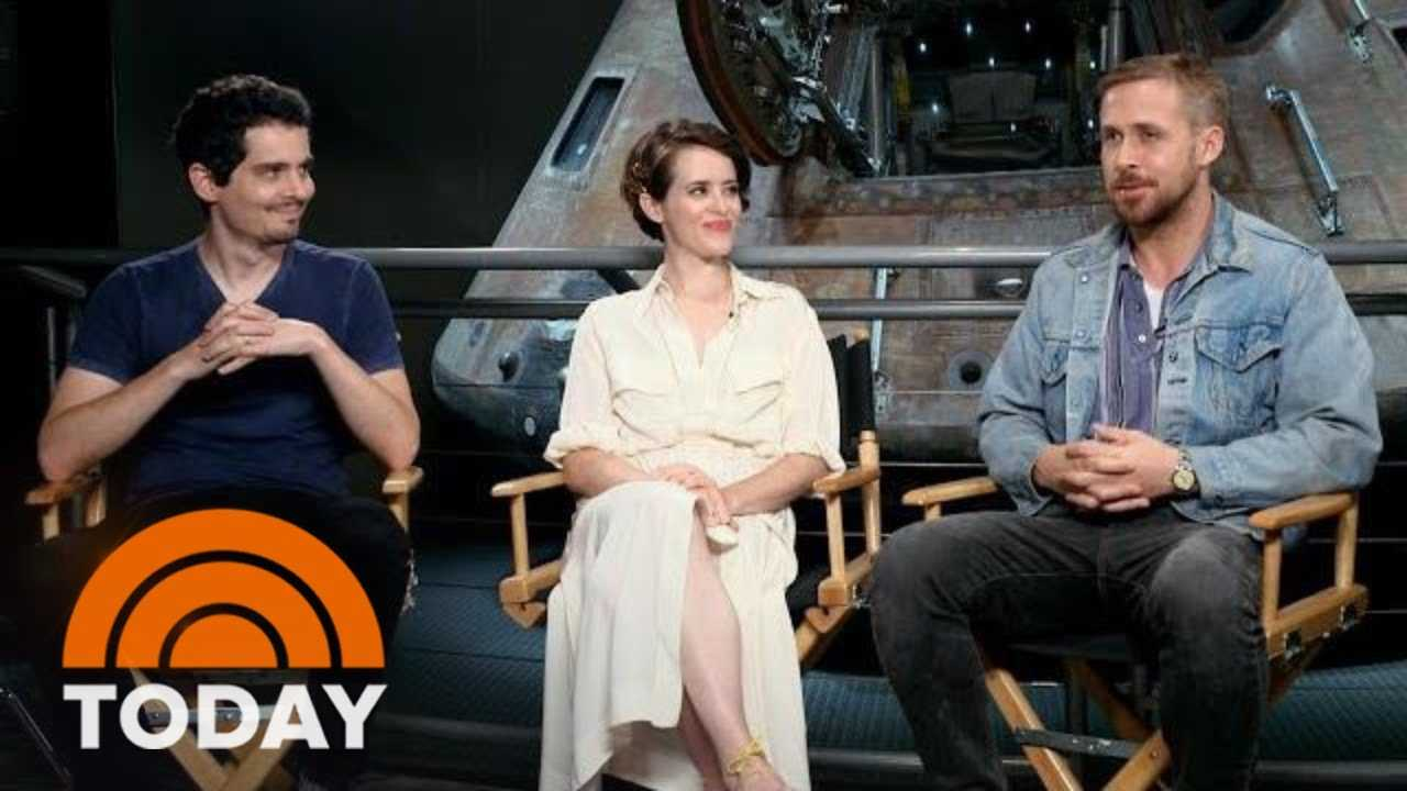 Ryan Gosling, Claire Foy And Damien Chazelle Talk 'First Man'   TODAY