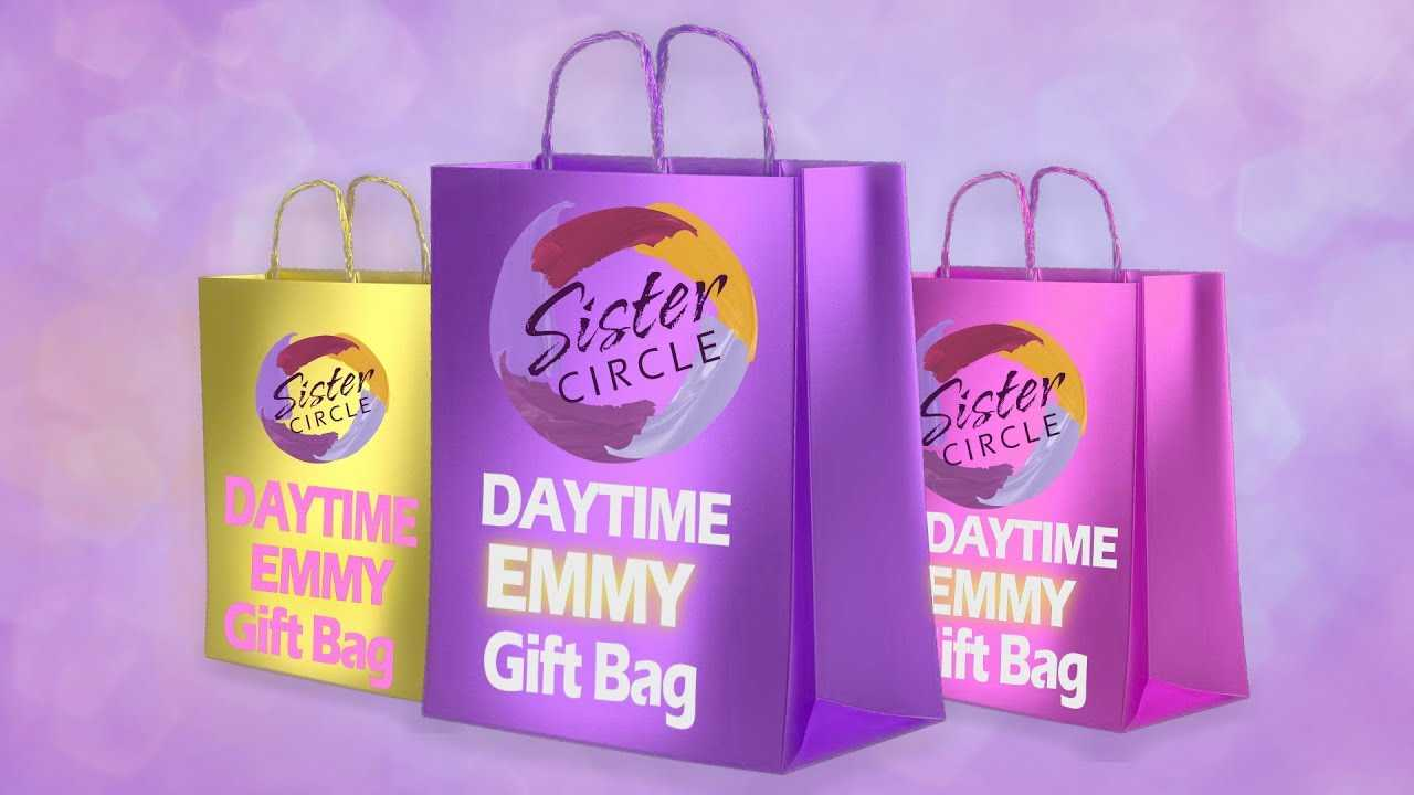 Sister Circle 'Daytime Emmy Gift Bag Giveaway!'