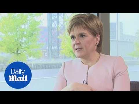 Sturgeon believes Brexit's paved the way for Scotland independence