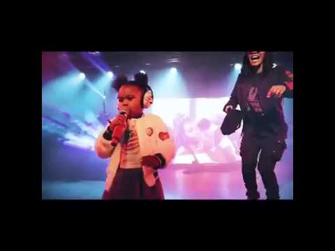 Teyana Taylor's Adorable Daughter Takes Over Her Concert Performance