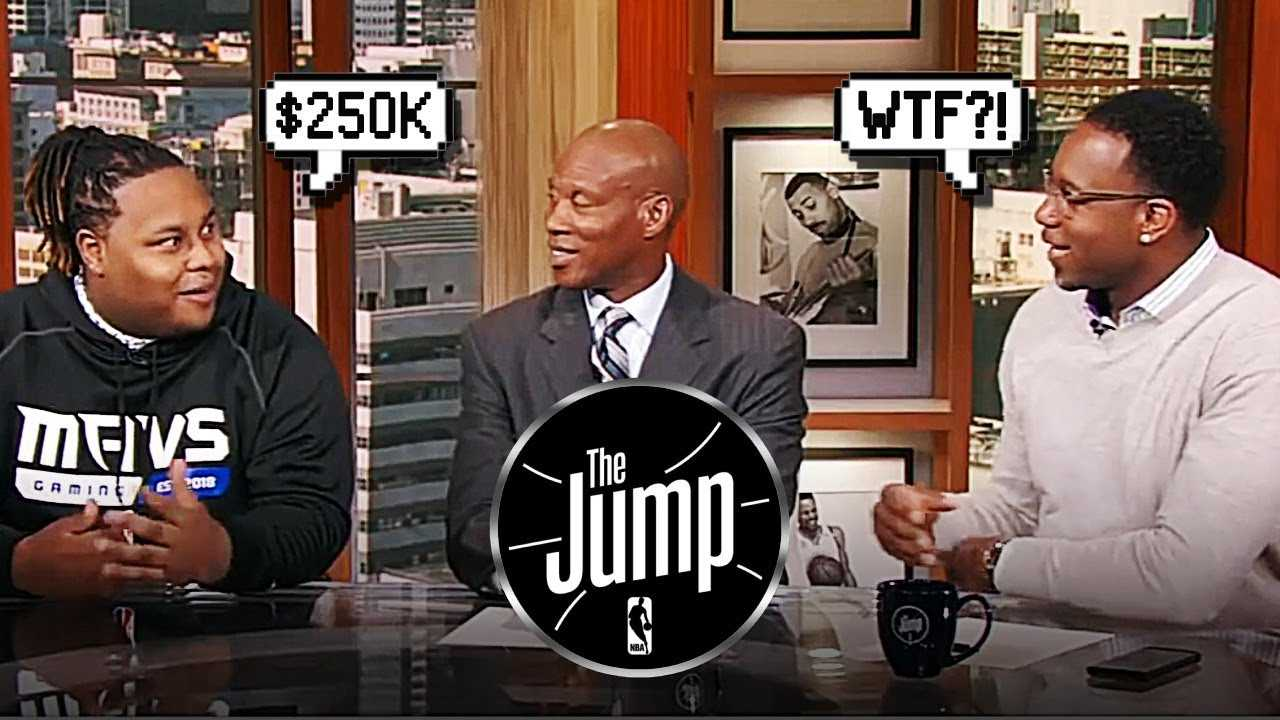 Tracy McGrady Shocked NBA 2K Players Making Over $250K | The Jump