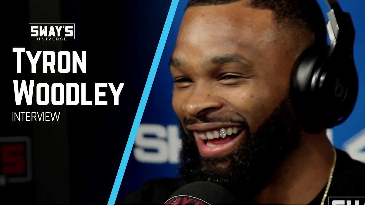 """UFC Champ Tyron Woodley Debuts New Song """"Beat Yo Ass"""" and Speaks on Controversy with Dana White"""
