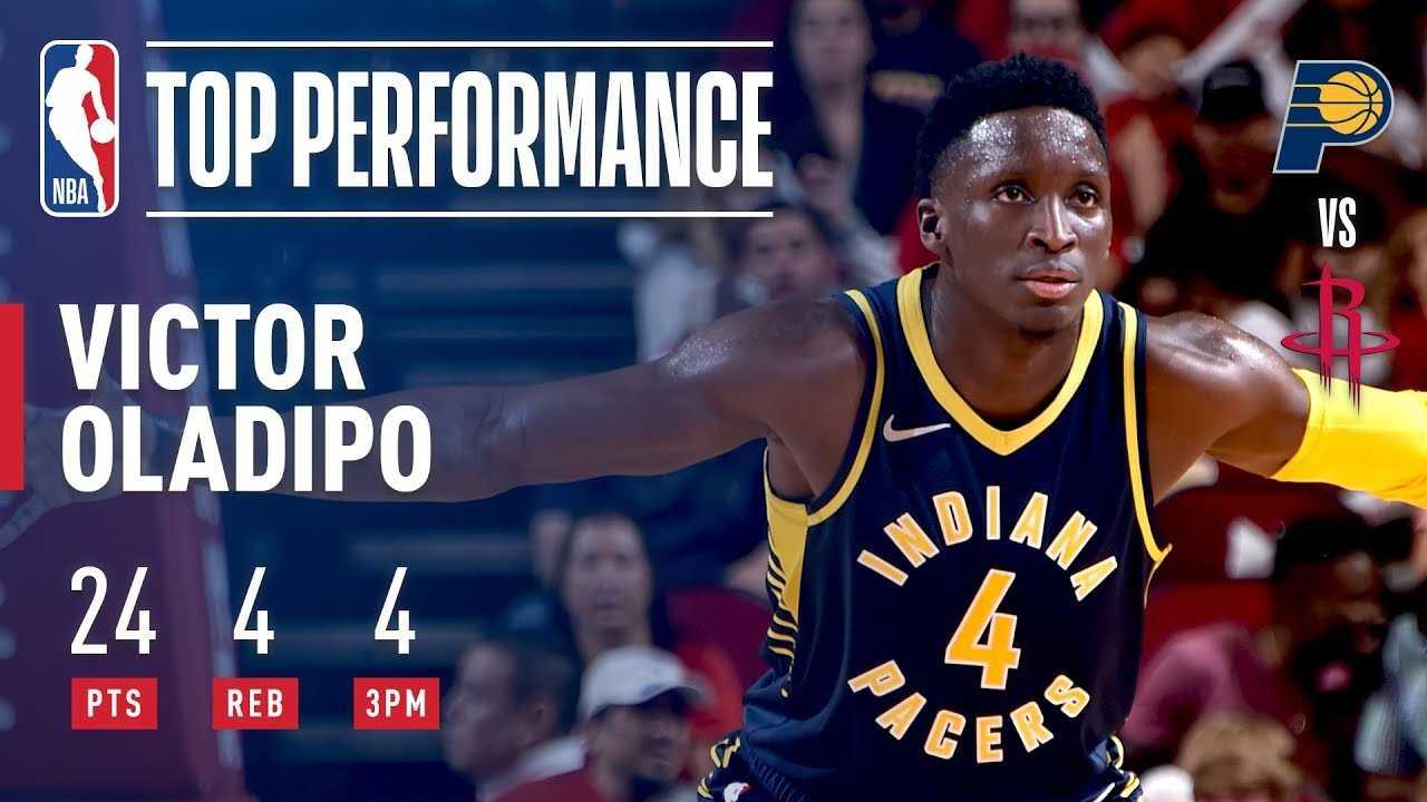 Victor Oladipo Puts On A Show vs Houston   2018 NBA Preseason