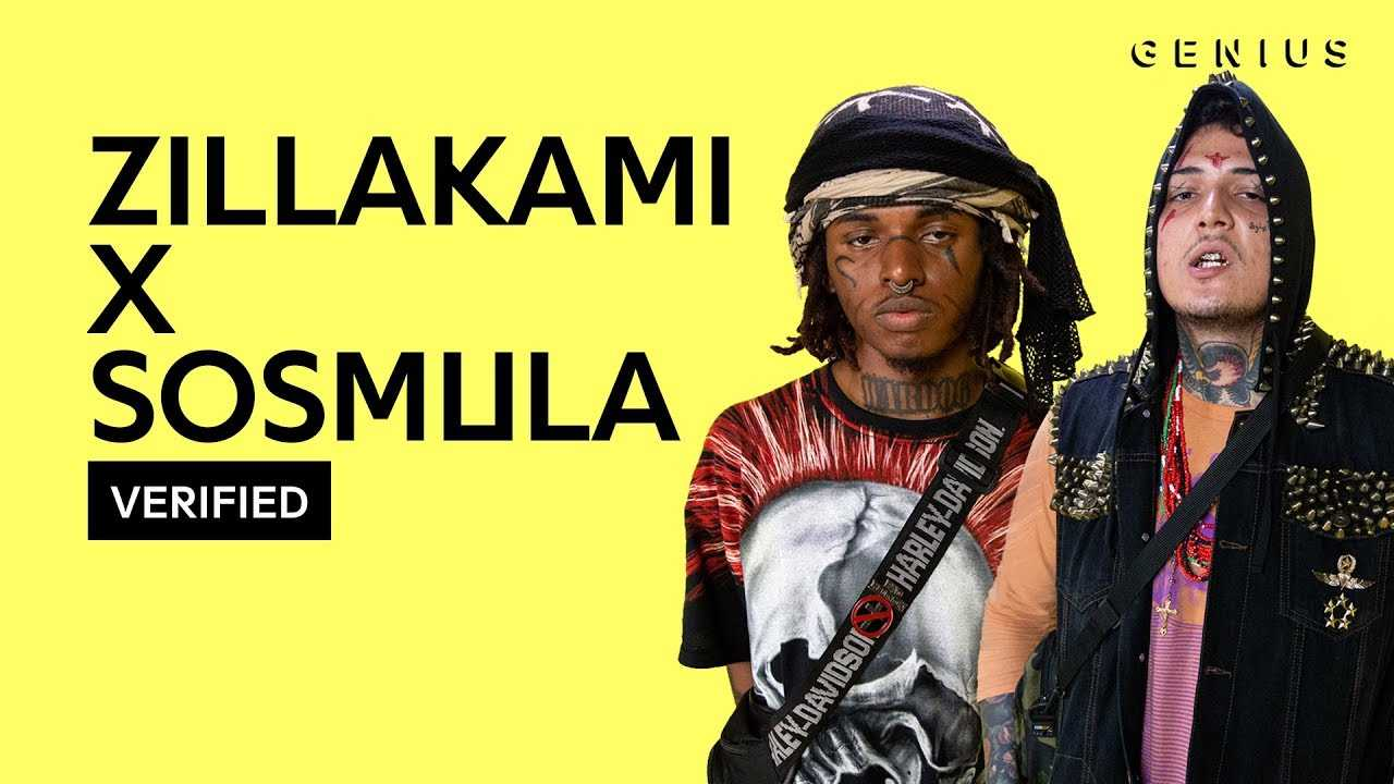 "ZillaKami x SosMula ""33RD BLAKK GLASS"" Official Lyrics & Meaning 