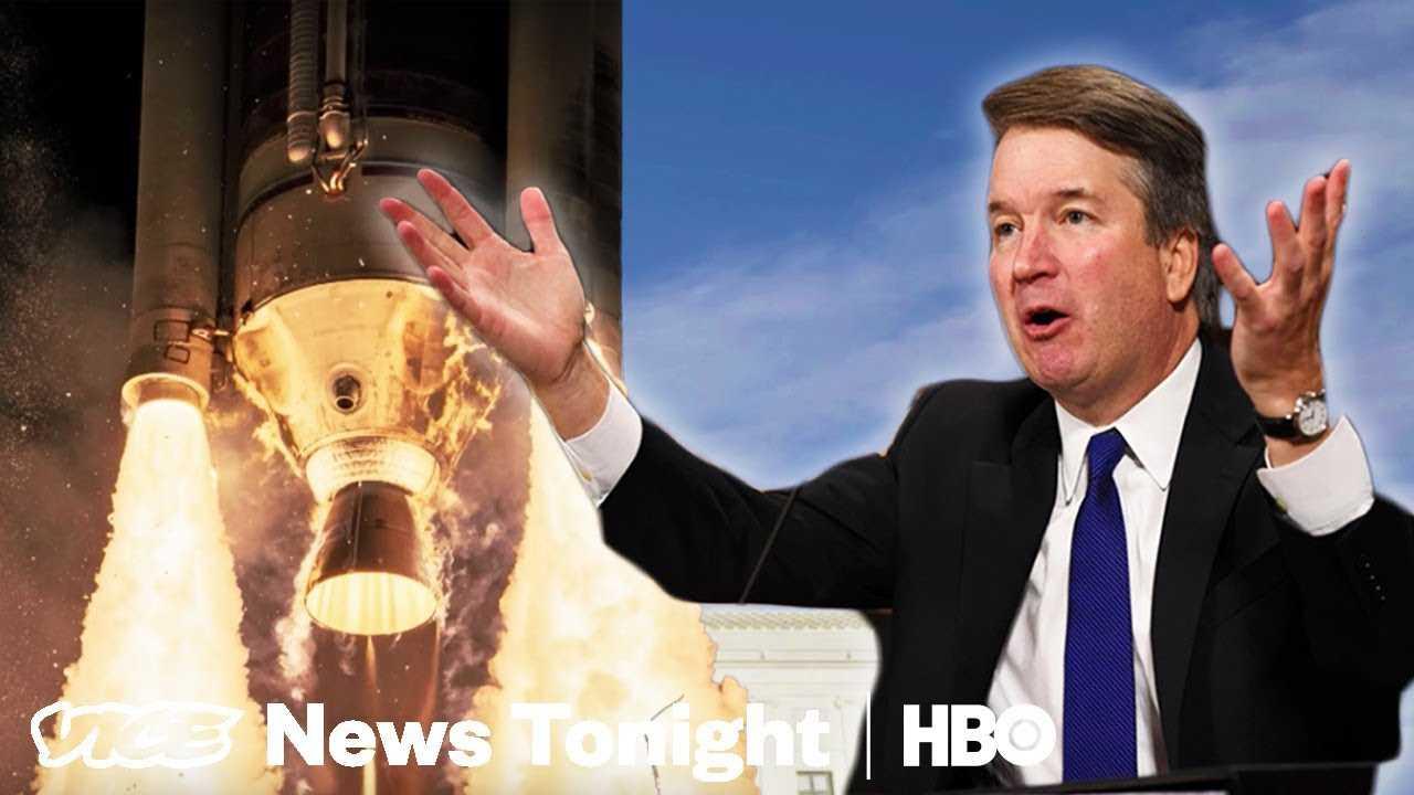 Chasing Rocket Launches & FBI Investigates Kavanaugh: VICE News Tonight Full Episode (HBO)