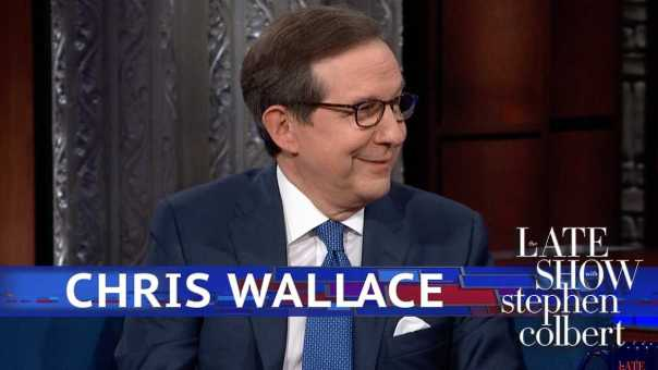 Chris Wallace Spars With Colbert Over Immigration Facts