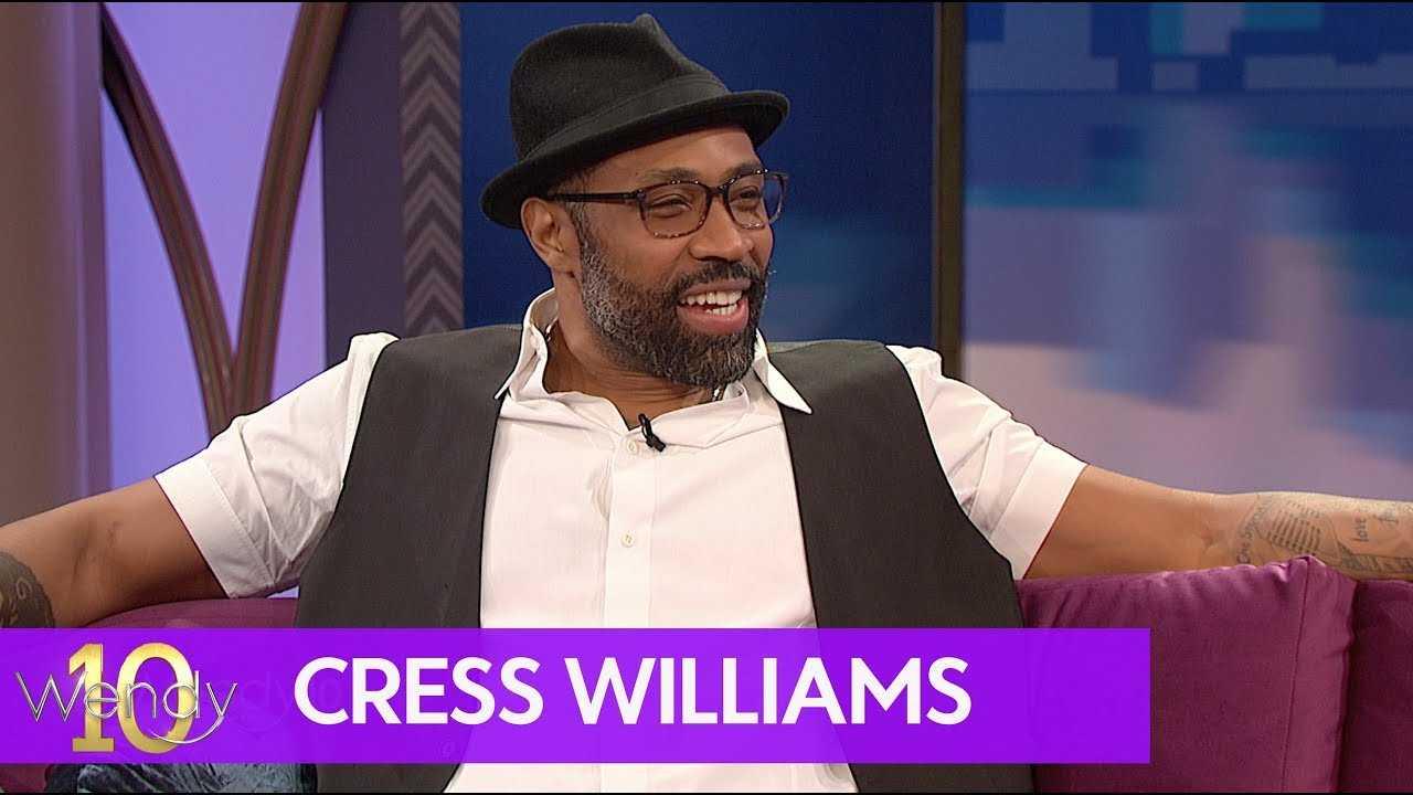 "Cress Williams is ""Black Lightning"""
