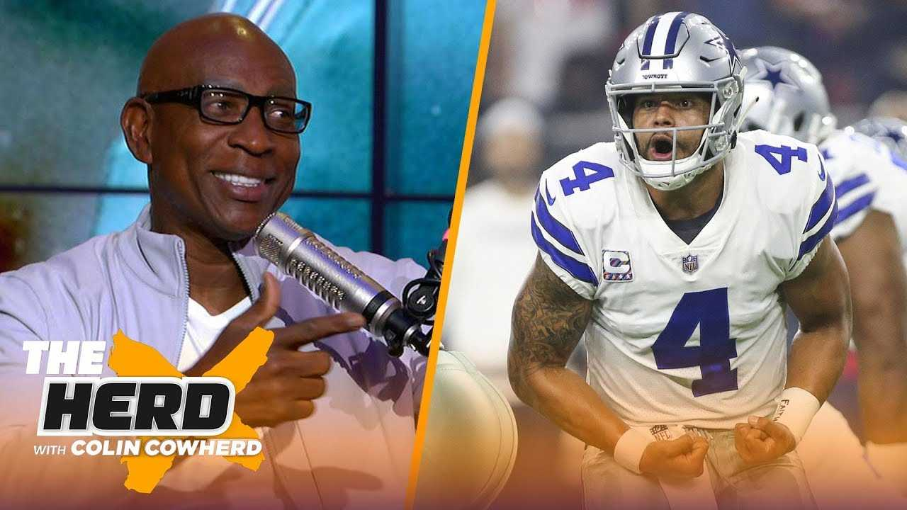 Eric Dickerson on Dak getting blame for Cowboys struggles, Baker Mayfield and more   NFL   THE HERD