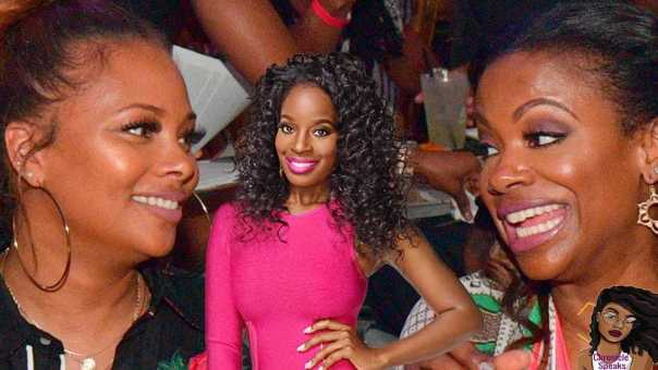 Eva Marcille CORRECTS Kandi For Accusing Her Of Colorism
