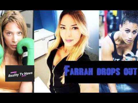Farrah Abraham BACKS OUT Of Her Boxing Match With Hoopz After Drita Becomes The Referee!