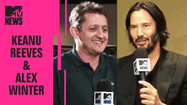 Keanu Reeves & Alex Winter on a 'Bill & Ted' Reunion | MTV News