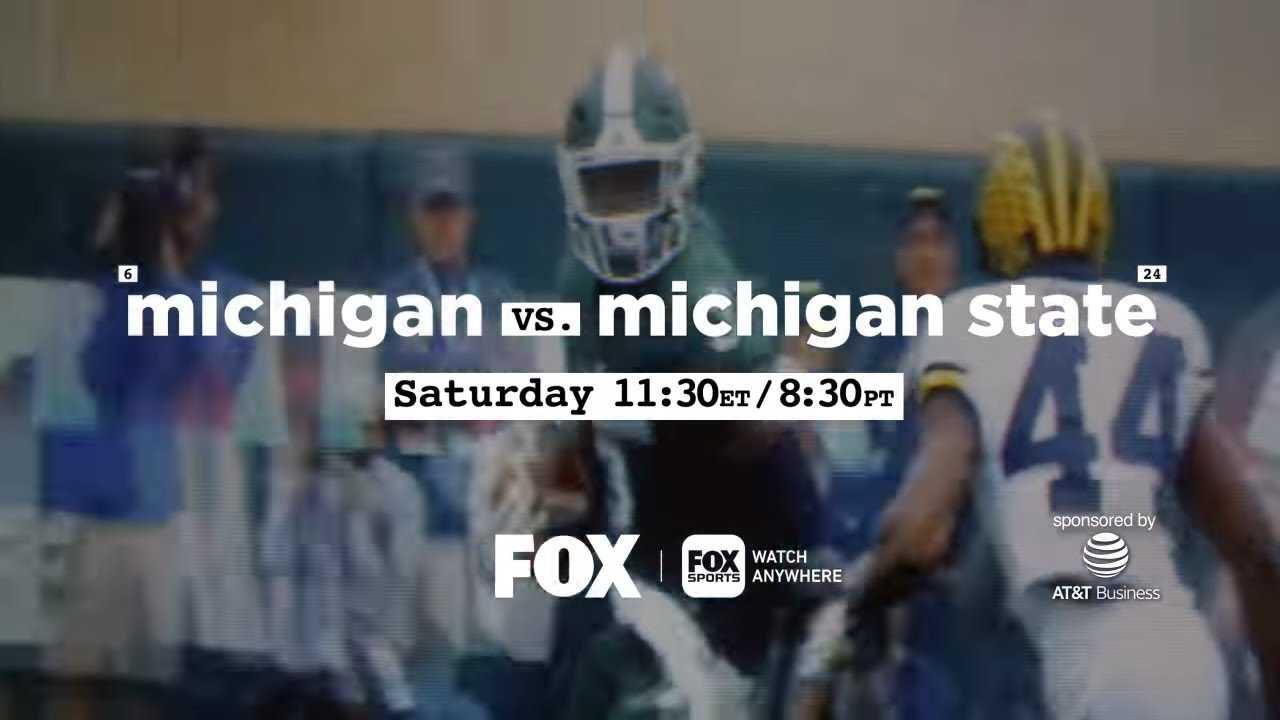 Michigan vs. Michigan St. | College Football on FOX