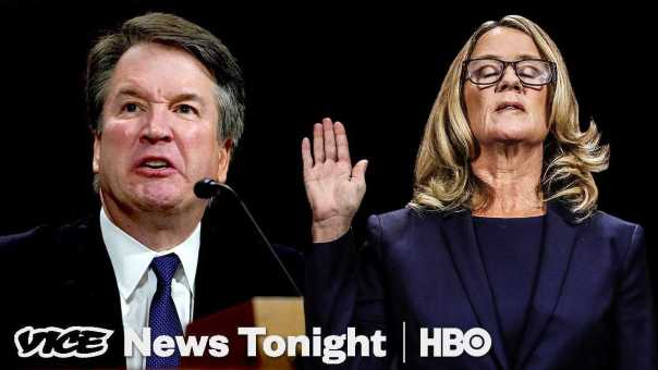 Moment Of Truth: Kavanaugh And Ford (Clip) | VICE News Tonight on HBO