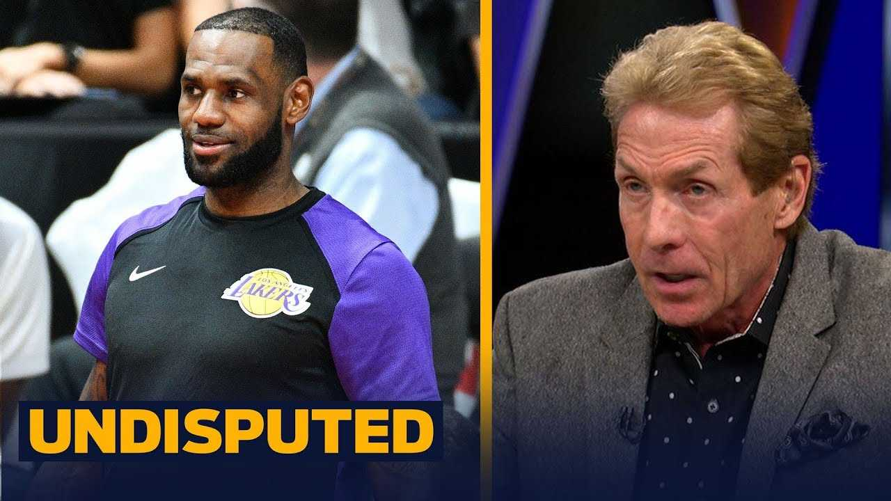 Skip Bayless predicts LeBron will win MVP and scoring title in 1st year in LA | NBA | UNDISPUTED