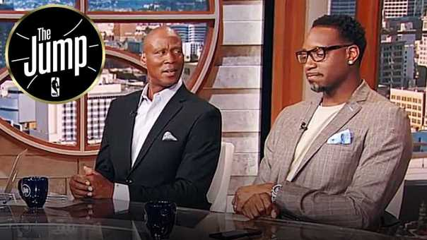 T-Mac & Byron Scott Think Sweep Is More Likely Than GSW-CLE Series Going To 6 Games | The Jump
