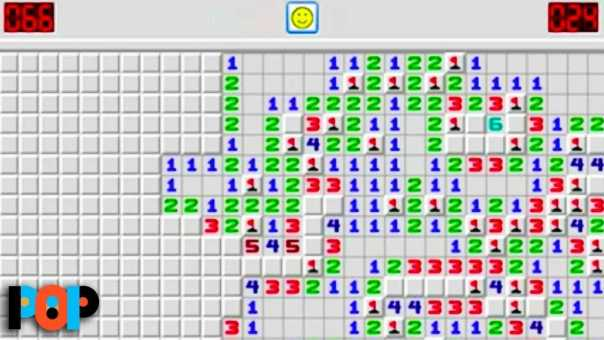 The Hidden Purpose Of MINESWEEPER, SOLITAIRE, and Other Old School Computer Games
