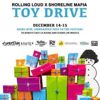 Rolling Loud Los Angeles Announces Holiday Toy Drive with ShorelineMafia [Events]