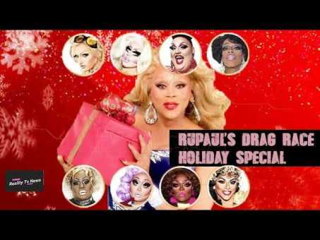 VH1 Announces 'Rupauls Drag Race' Holiday Special!- CAST REVEALED!