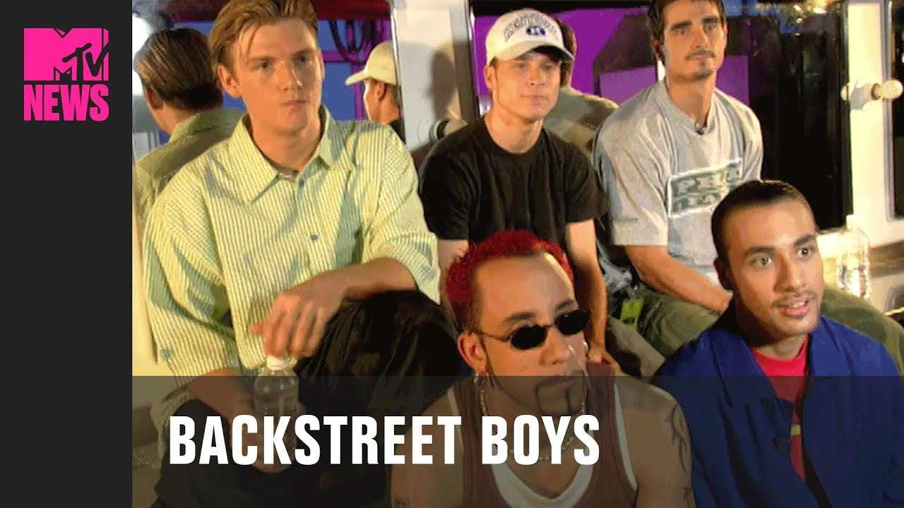 Backstreet Boys on the 'Everybody (Backstreet's Back)' Music Video | MTV News | #TBMTV