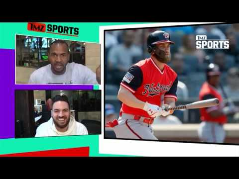 Bryce Harper: NO DECISION YET NYC & Chi Have Food Edge | TMZ Sports