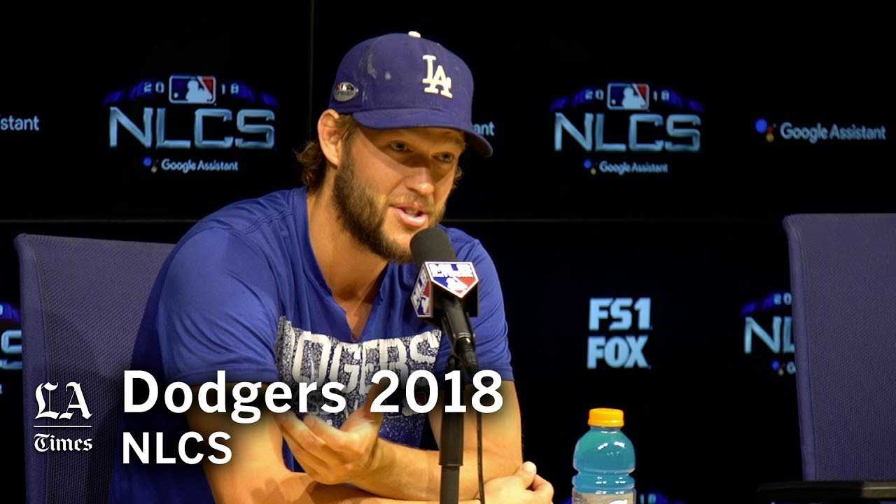 Dodgers NLCS 2018: Clayton Kershaw on the pressure to win