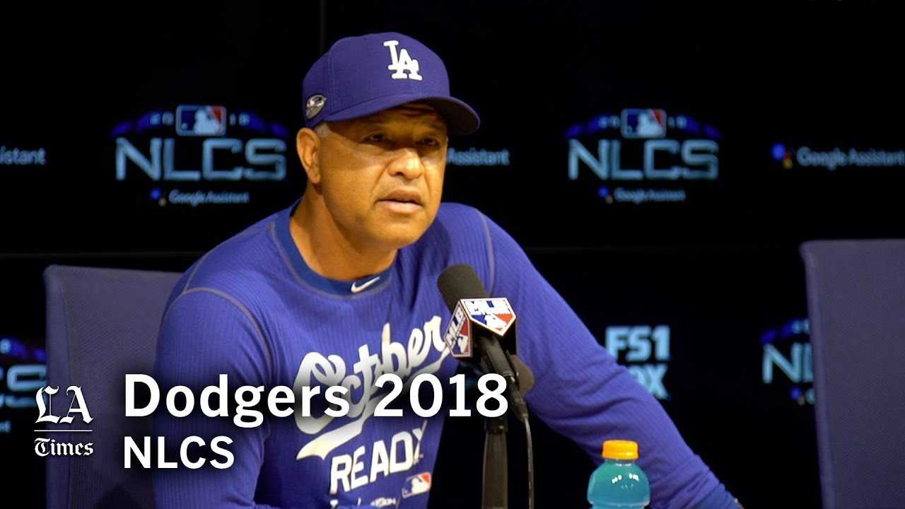 Dodgers NLCS 2018: Dave Roberts on the Brewers' bullpen and when to bunt