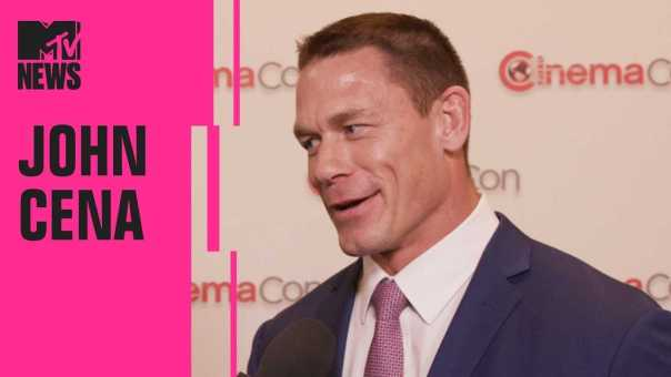 John Cena on 'Bumblebee: The Movie' & How It Connects to 'Transformers' | CinemaCon | MTV News