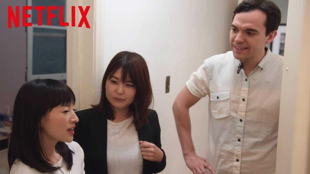 Marie Kondo Tidys Up Your Linen Closet | Tidying Up with Marie Kondo | Netflix