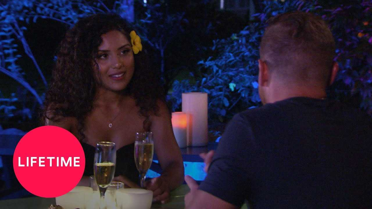Married at First Sight: Honeymoon Island - Tyler and Isabella's First Date (S1, E2)   Lifetime