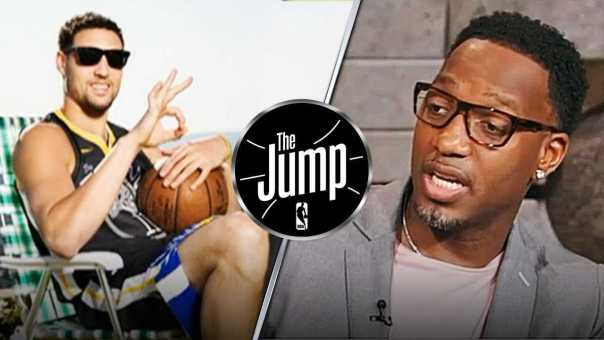 McGrady & Pippen On Klay Thompson Wanting To Remain With Warriors | The Jump