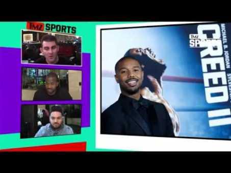 Michael B. Jordan Is Itching To Fight Roy Jones Jr.   TMZ Sports
