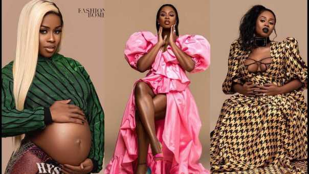 Remy Ma Exclusive Maternity Shoot