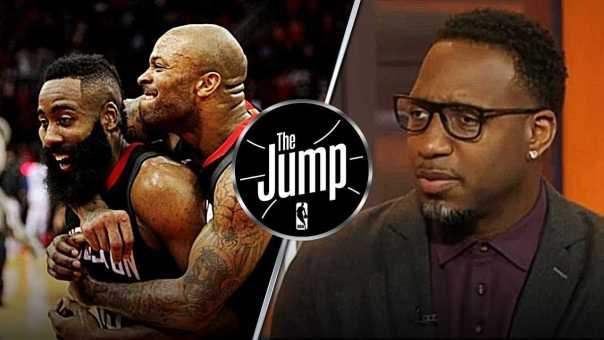 """Tracy McGrady: """"If Rockets can keep playing like this, Warriors are in deep trouble"""" 