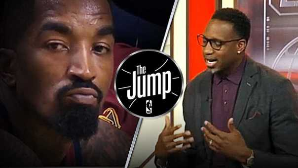 """Tracy McGrady: """"This is not J.R. Smith playing; this is Earl Smith"""" 