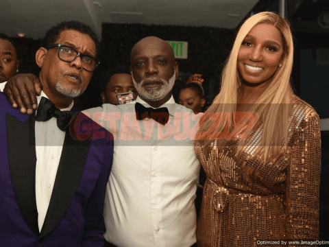 Celeb Sightings: Nene Leakes and Husband Gregg Leakes celebrate New Year's Eve with DeLeón Tequila and CÎROC Black Raspberry at Bar ONE [Photos]