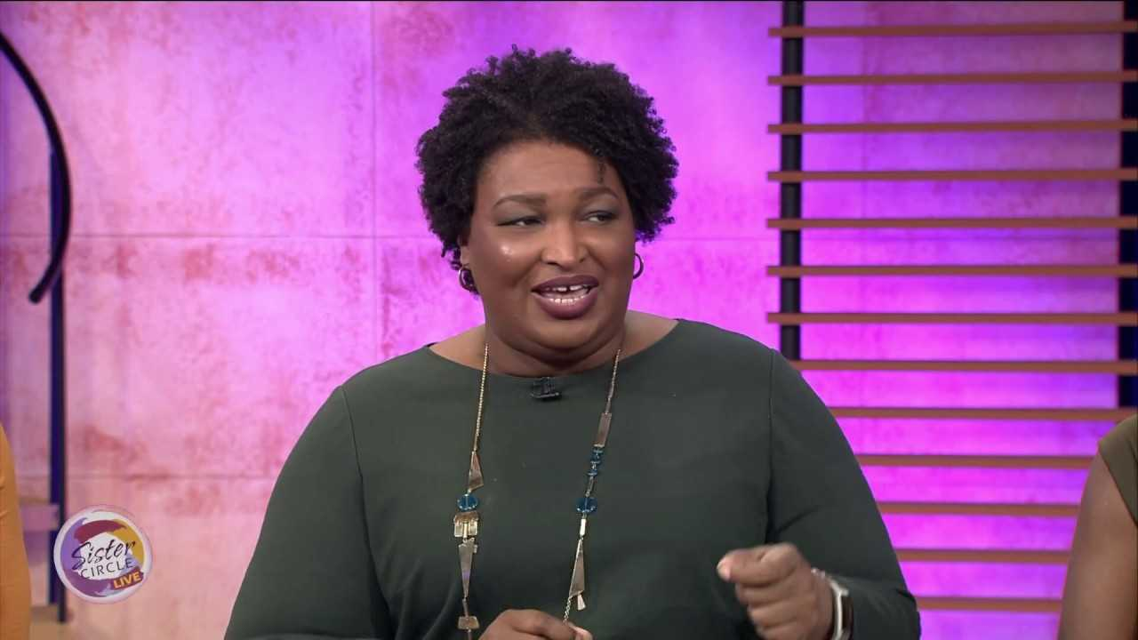 Stacey Abrams speaks on a Free & Fair Voting Process + Authoring Romance Novels