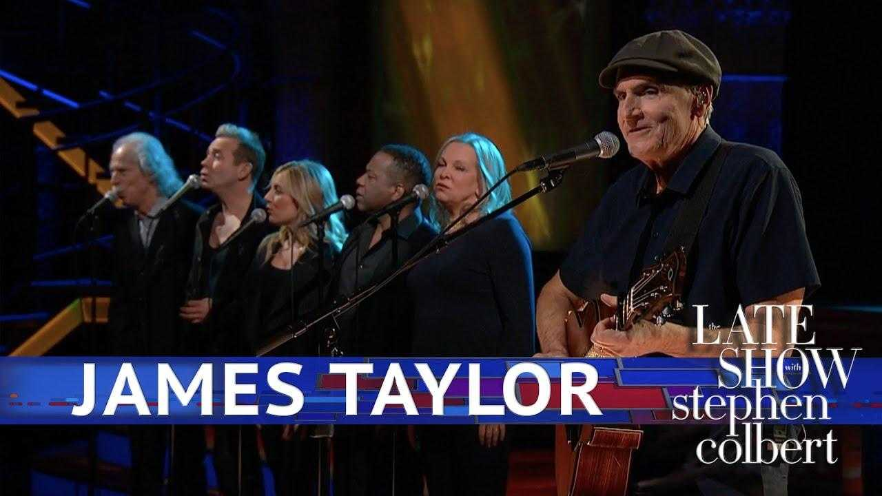James Taylor Performs 'Shower The People'