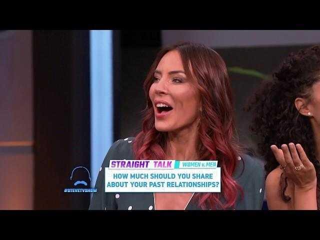 Straight Talk: Should You Share Past Relationships?    STEVE HARVEY