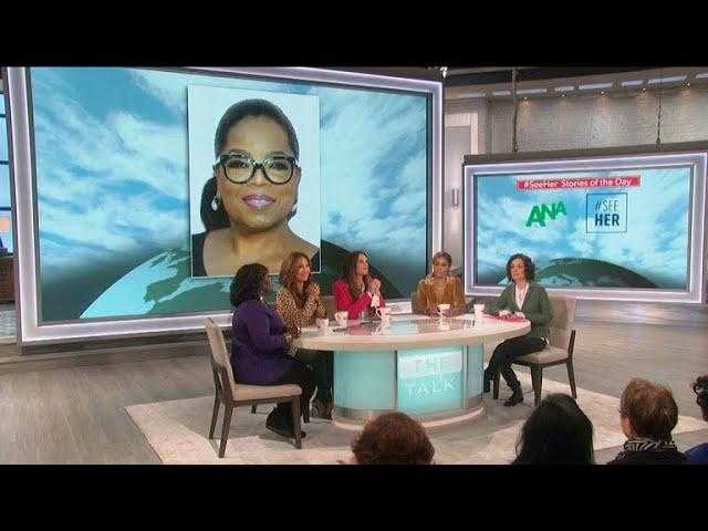 The Talk - The Talk's #SeeHer Story Of The Day