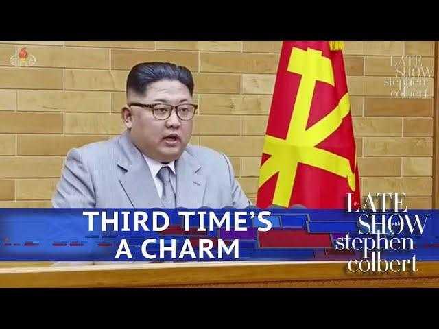 Kim Jong-Un Envisions A Third Summit