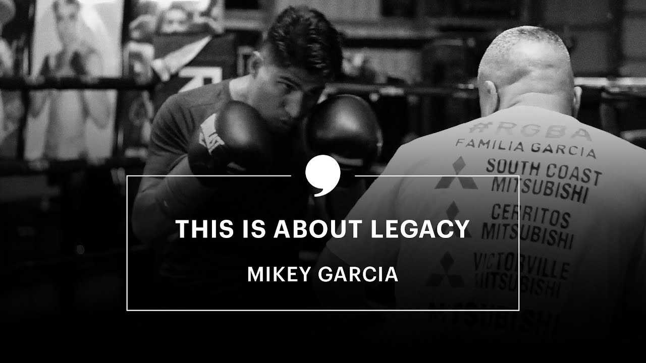 Mikey Garcia Talks Decision To Jump Two Weight Divisions