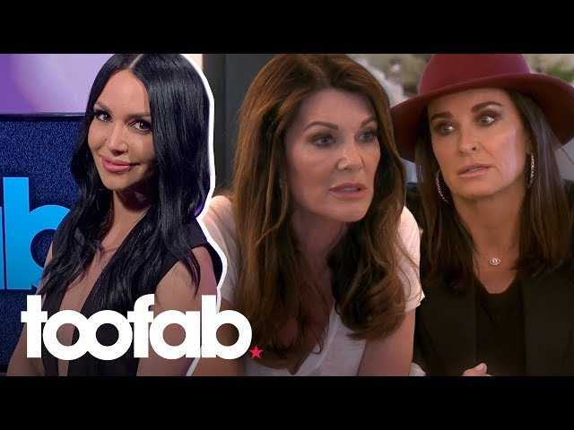 Scheana Shay Talks 'Hard-to-Watch' Fight Between Kyle Richards and Lisa Vanderpump   toofab