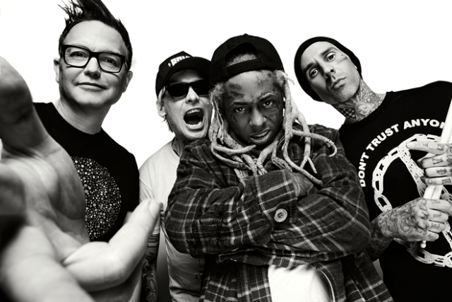 BLINK-182 AND LIL WAYNE JOIN FORCES  FOR CO-HEADLINING SUMMER TOUR