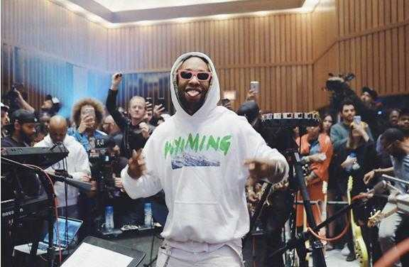 """Ty Dolla $ign performs """"Blasé"""" at Capitol Studios [Live Performance]"""