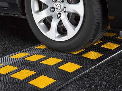 Make use of Portable Speed Bumps for Better Traffic protection